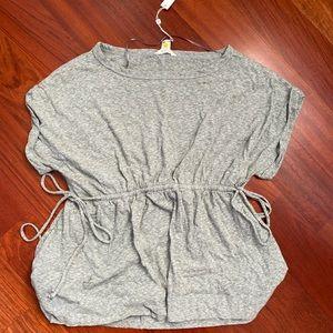 Grey Cinched Shirt
